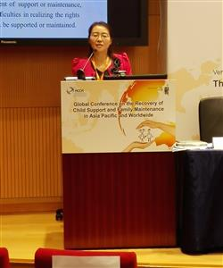 Attorney Ningning Zhao Presentation at HCCH 2015 in Hong Kong
